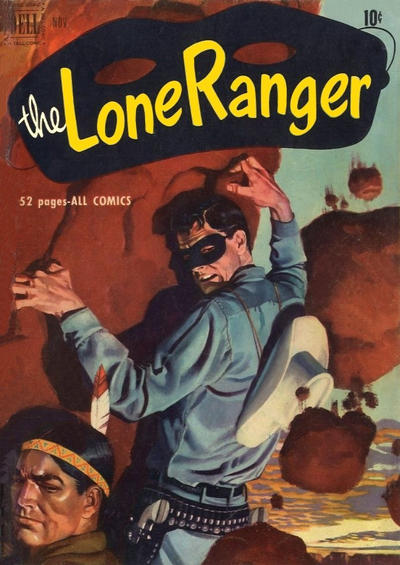 Cover for The Lone Ranger (Dell, 1948 series) #41