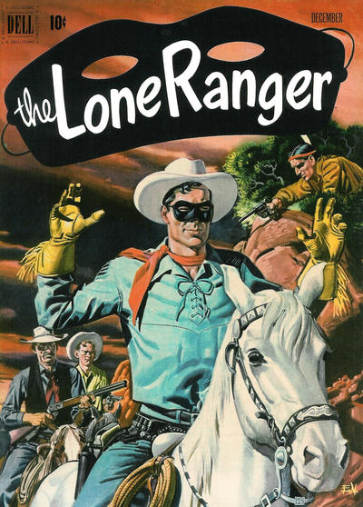 Cover for The Lone Ranger (Dell, 1948 series) #42
