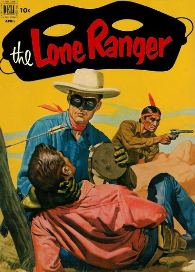 Cover for The Lone Ranger (Dell, 1948 series) #46