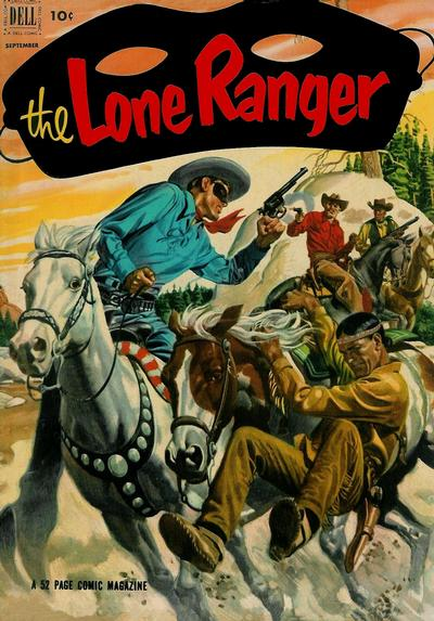 Cover for The Lone Ranger (Dell, 1948 series) #51