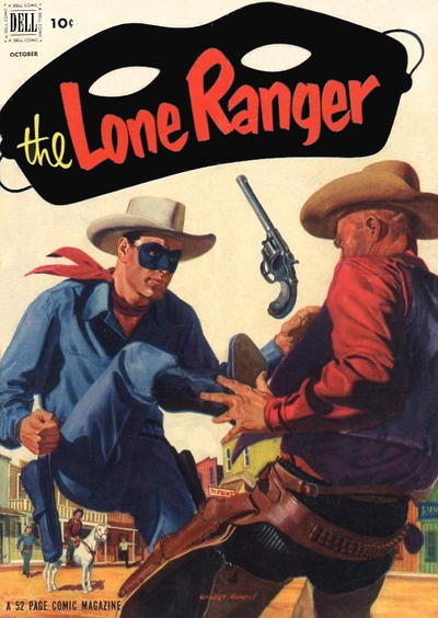 Cover for The Lone Ranger (Dell, 1948 series) #52