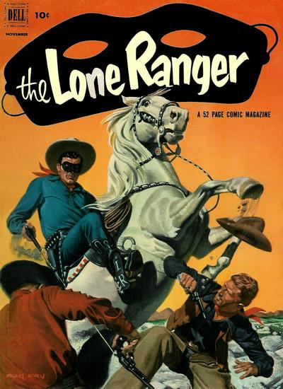 Cover for The Lone Ranger (Dell, 1948 series) #53