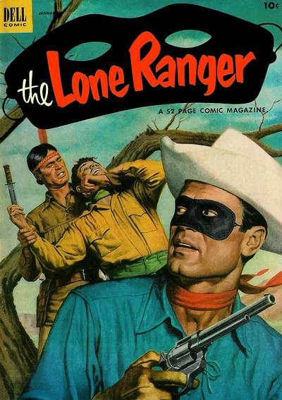 Cover for The Lone Ranger (Dell, 1948 series) #55