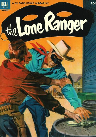 Cover for The Lone Ranger (Dell, 1948 series) #56