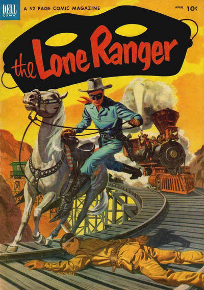 Cover for The Lone Ranger (Dell, 1948 series) #58
