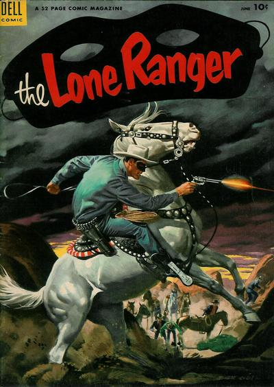 Cover for The Lone Ranger (Dell, 1948 series) #60