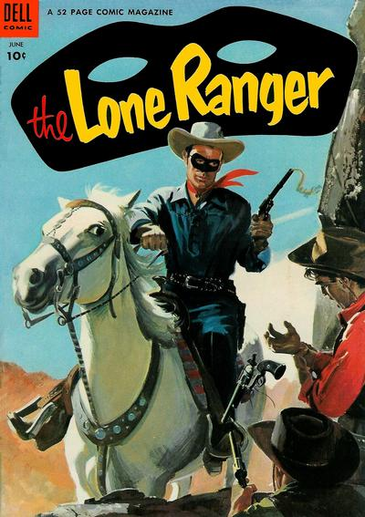 Cover for The Lone Ranger (Dell, 1948 series) #72