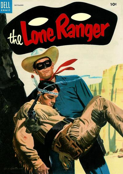 Cover for The Lone Ranger (Dell, 1948 series) #75