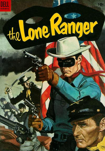 Cover for The Lone Ranger (Dell, 1948 series) #76