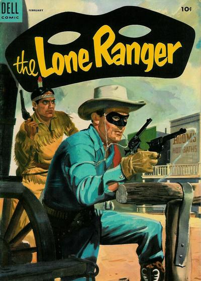 Cover for The Lone Ranger (Dell, 1948 series) #80