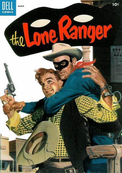 Cover for The Lone Ranger (Dell, 1948 series) #81