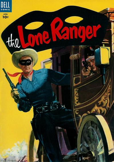 Cover for The Lone Ranger (Dell, 1948 series) #82