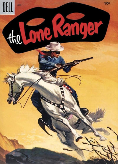 Cover for The Lone Ranger (Dell, 1948 series) #84