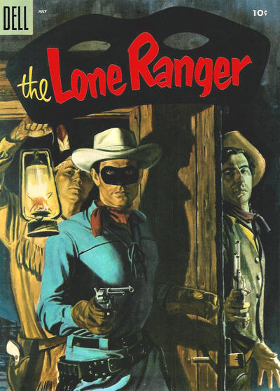 Cover for The Lone Ranger (Dell, 1948 series) #85