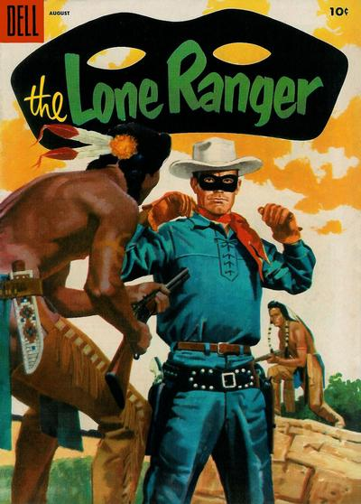 Cover for The Lone Ranger (Dell, 1948 series) #86