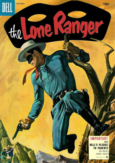 Cover for The Lone Ranger (Dell, 1948 series) #87