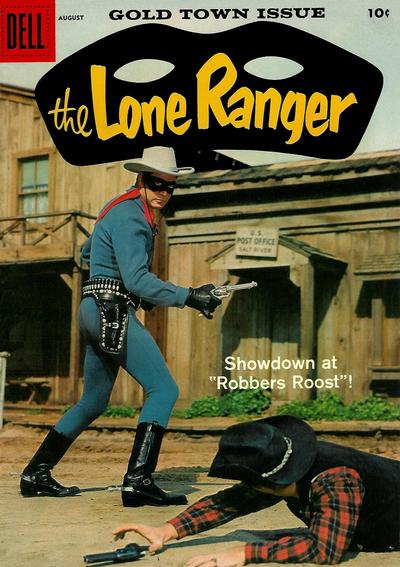Cover for The Lone Ranger (Dell, 1948 series) #122