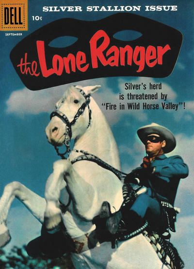Cover for The Lone Ranger (Dell, 1948 series) #123
