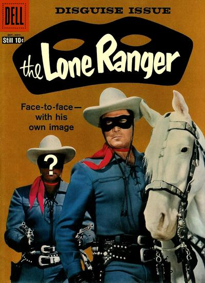 Cover for The Lone Ranger (Dell, 1948 series) #124