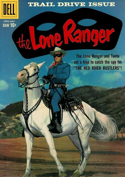 Cover for The Lone Ranger (Dell, 1948 series) #127