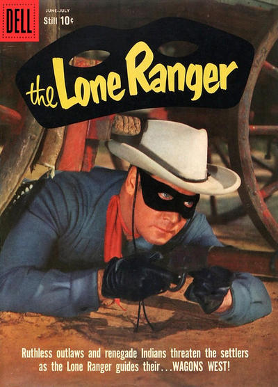 Cover for The Lone Ranger (Dell, 1948 series) #128