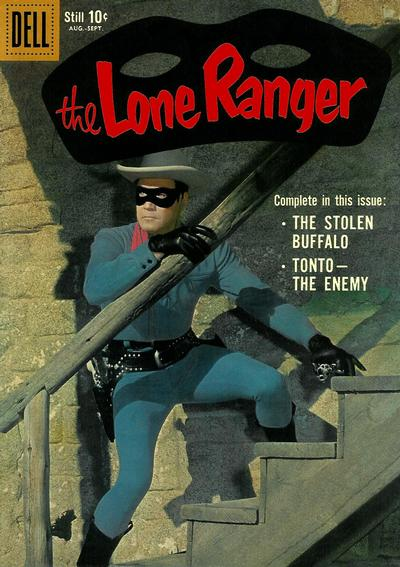 Cover for The Lone Ranger (Dell, 1948 series) #129