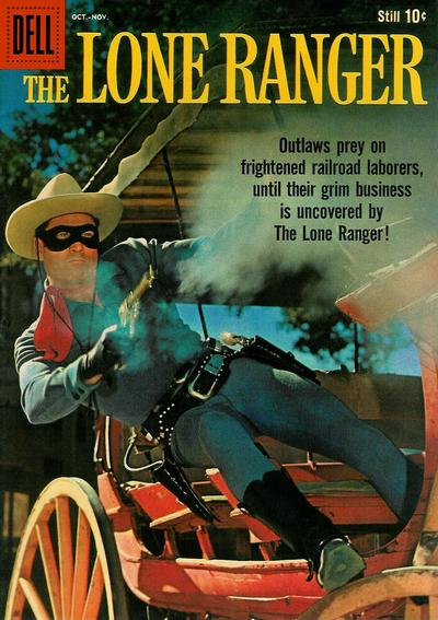 Cover for The Lone Ranger (Dell, 1948 series) #130