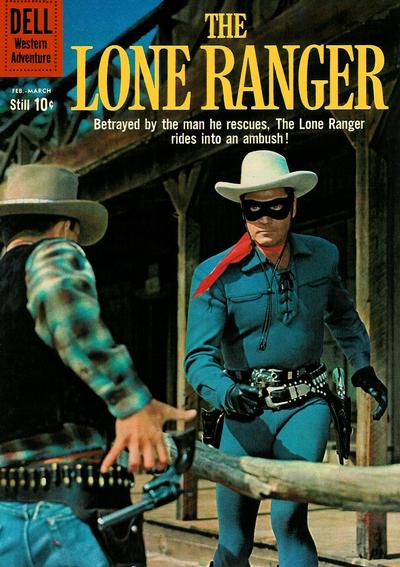 Cover for The Lone Ranger (Dell, 1948 series) #132