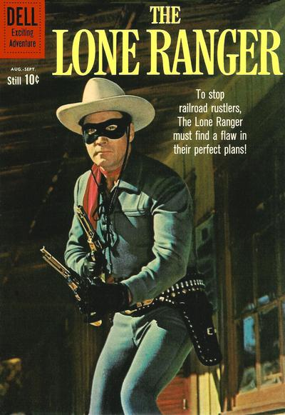 Cover for The Lone Ranger (Dell, 1948 series) #135