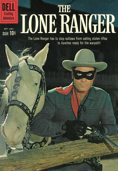 Cover for The Lone Ranger (Dell, 1948 series) #136