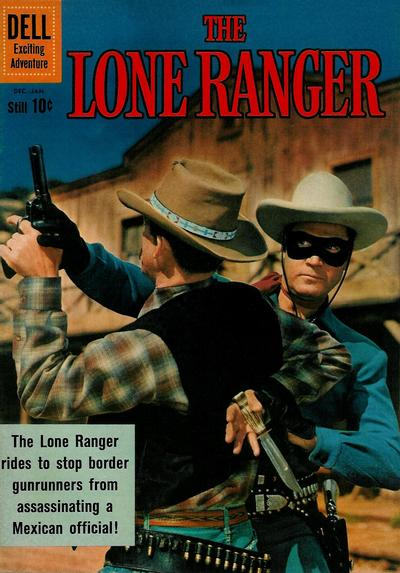Cover for The Lone Ranger (Dell, 1948 series) #137