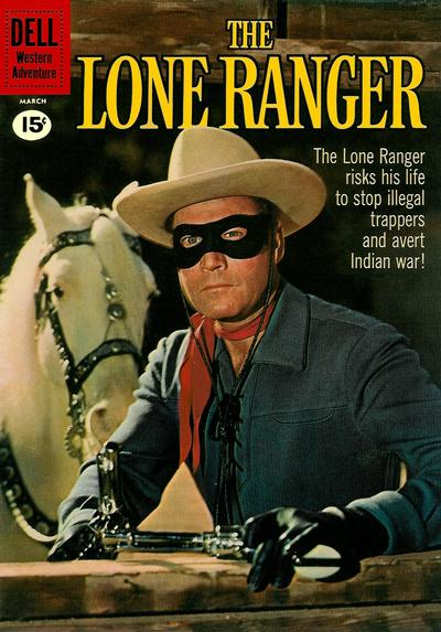 Cover for The Lone Ranger (Dell, 1948 series) #138