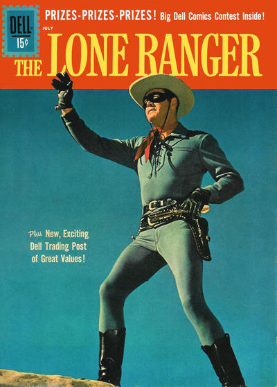 Cover for The Lone Ranger (Dell, 1948 series) #140