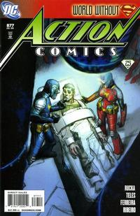 Cover Thumbnail for Action Comics (DC, 1938 series) #877 [Direct Sales]
