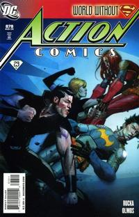 Cover Thumbnail for Action Comics (DC, 1938 series) #878 [Direct Sales]