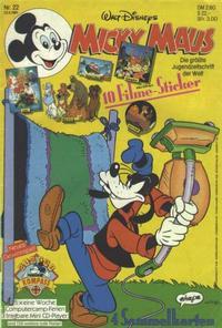 Cover for Micky Maus (Egmont Ehapa, 1951 series) #22/1991