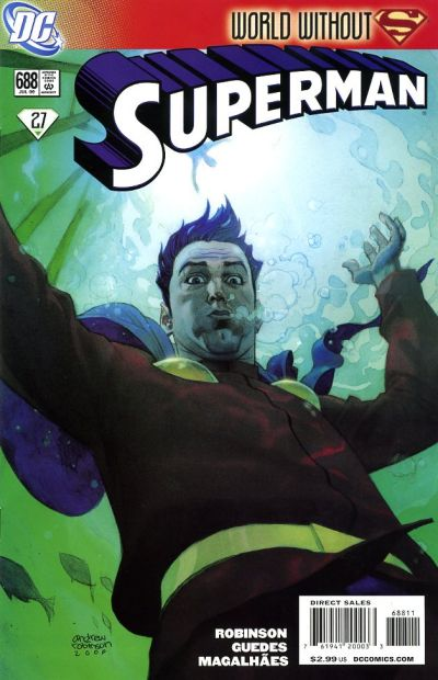 Cover for Superman (DC, 2006 series) #688