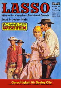 Cover Thumbnail for Lasso (Bastei Verlag, 1966 series) #59
