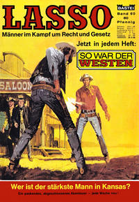 Cover Thumbnail for Lasso (Bastei Verlag, 1966 series) #60