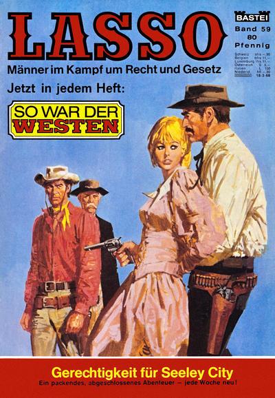 Cover for Lasso (Bastei Verlag, 1966 series) #59