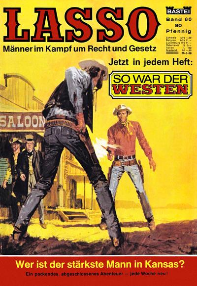 Cover for Lasso (Bastei Verlag, 1966 series) #60
