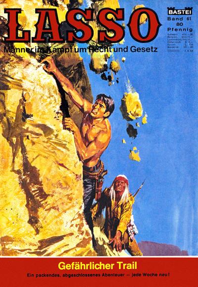 Cover for Lasso (Bastei Verlag, 1966 series) #61