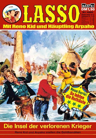 Cover for Lasso (Bastei Verlag, 1966 series) #480
