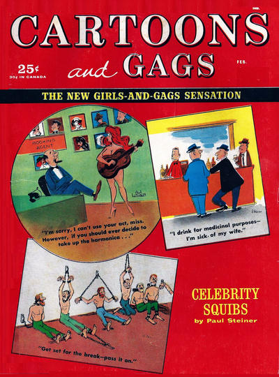 Cover for Cartoons and Gags (Marvel, 1959 series) #v6#1
