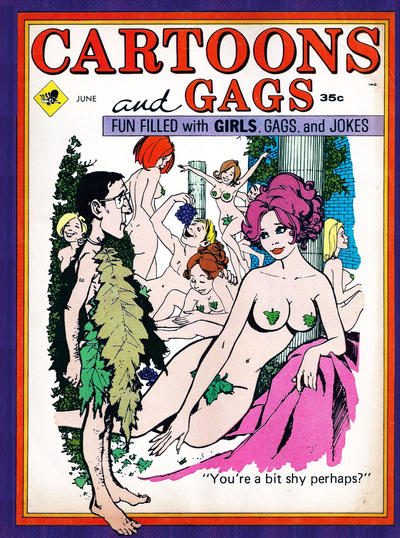 Cover for Cartoons and Gags (Marvel, 1959 series) #v16#3