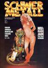 Cover for Schwermetall (Kunst der Comics / Alpha, 1984 series) #78