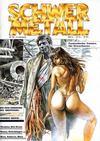 Cover for Schwermetall (Kunst der Comics / Alpha, 1984 series) #86