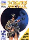 Cover for Schwermetall (Kunst der Comics / Alpha, 1984 series) #109