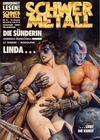 Cover for Schwermetall (Kunst der Comics / Alpha, 1984 series) #111