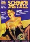 Cover for Schwermetall (Kunst der Comics / Alpha, 1984 series) #126